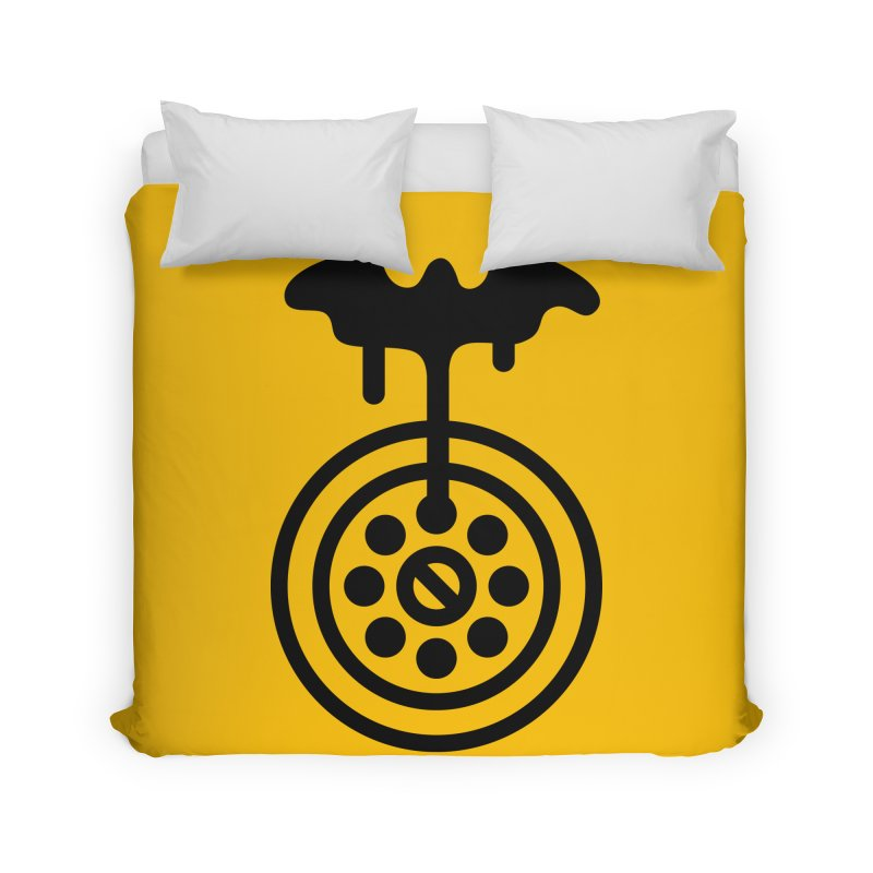 Bath Man Home Duvet by iconnico