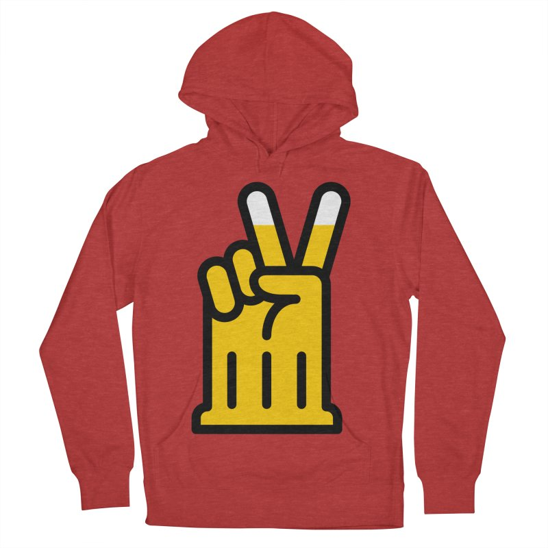 Two Beers Men's French Terry Pullover Hoody by iconnico