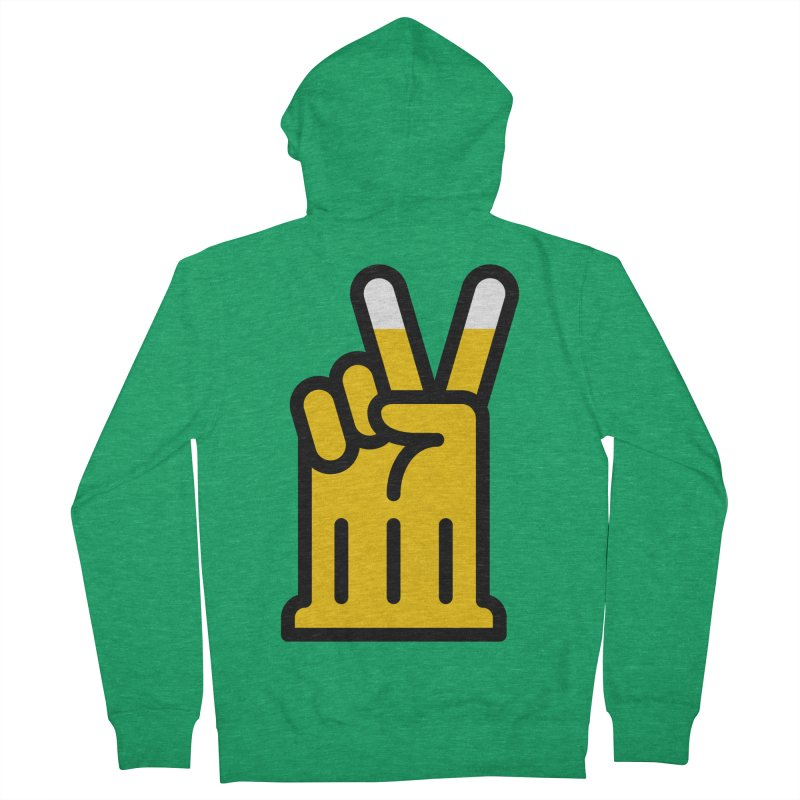 Two Beers Men's Zip-Up Hoody by iconnico