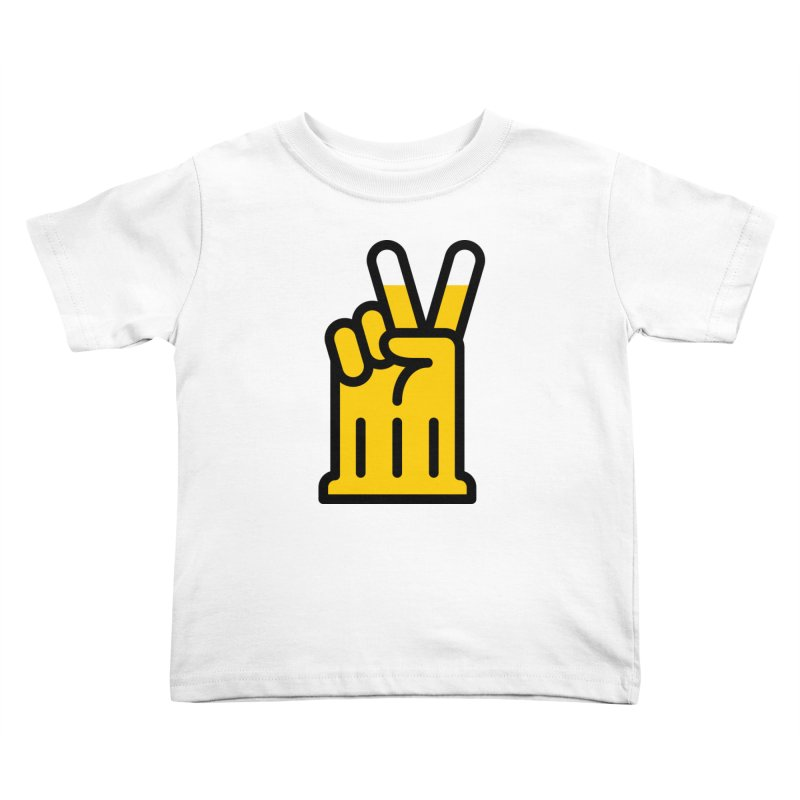 Two Beers Kids Toddler T-Shirt by iconnico