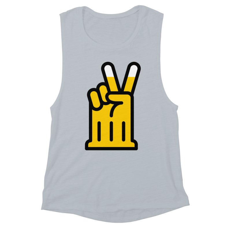 Two Beers Women's Muscle Tank by iconnico