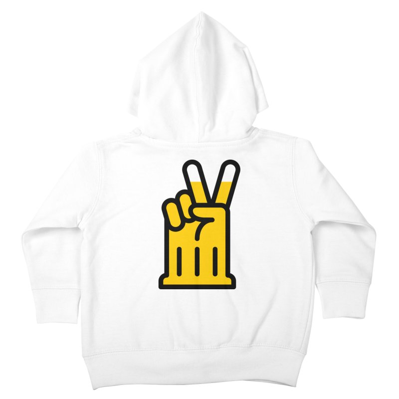 Two Beers Kids Toddler Zip-Up Hoody by iconnico