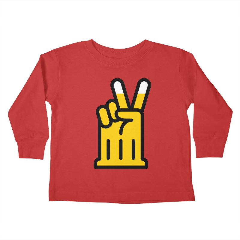 Two Beers Kids Toddler Longsleeve T-Shirt by iconnico