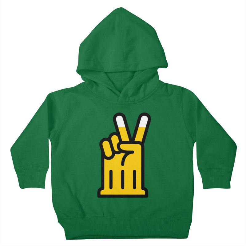 Two Beers Kids Toddler Pullover Hoody by iconnico