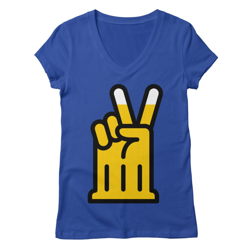 Two Beers Women's Regular V-Neck by iconnico