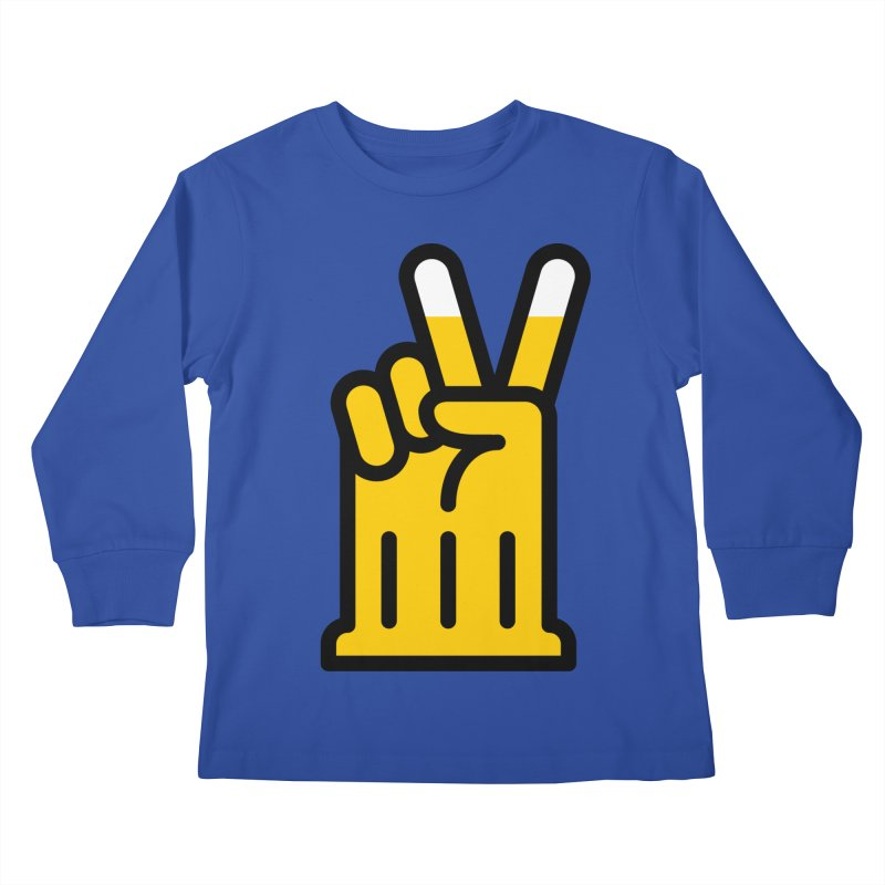 Two Beers Kids Longsleeve T-Shirt by iconnico