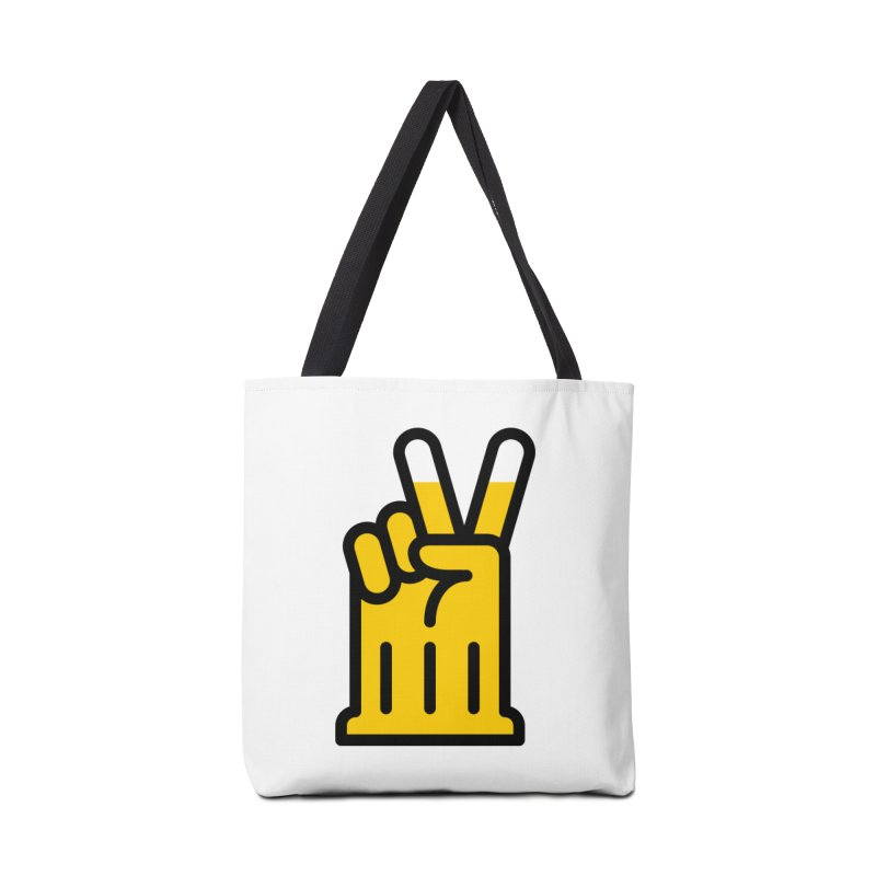 Two Beers Accessories Tote Bag Bag by iconnico