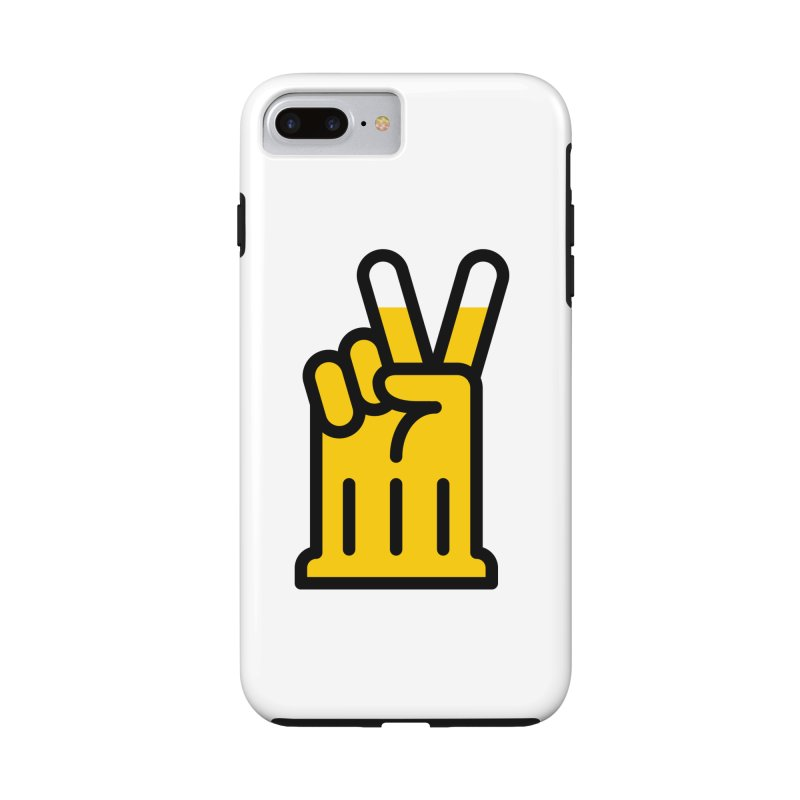 Two Beers Accessories Phone Case by iconnico