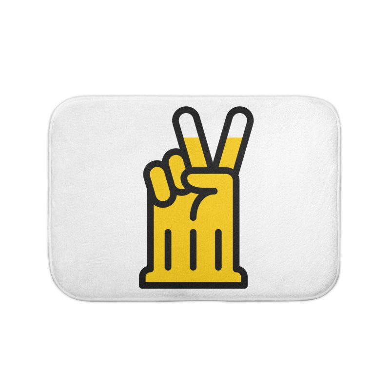 Two Beers Home Bath Mat by iconnico