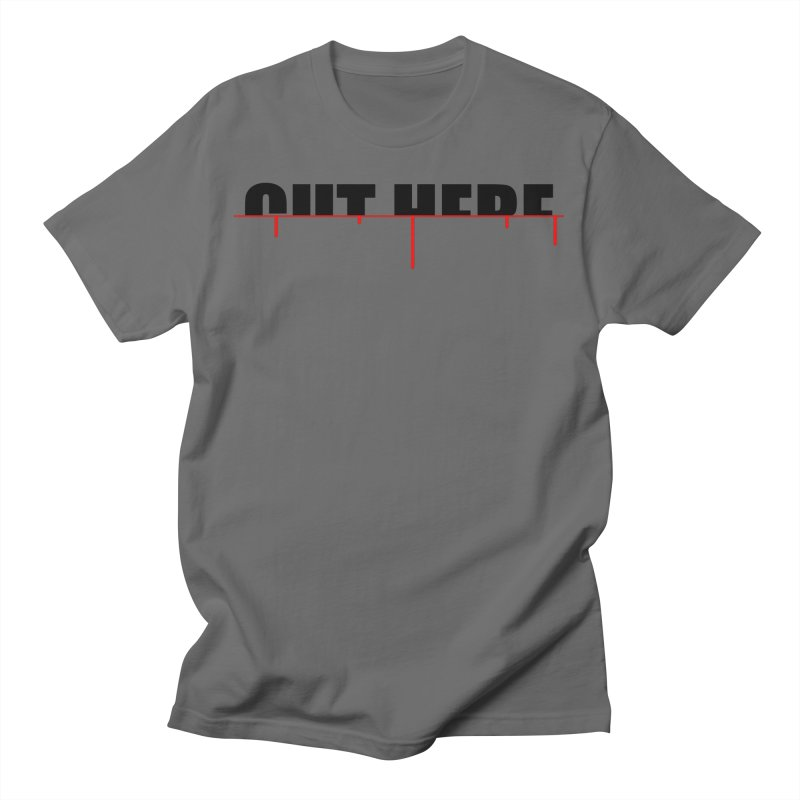 Cut Here Men's T-Shirt by iconnico