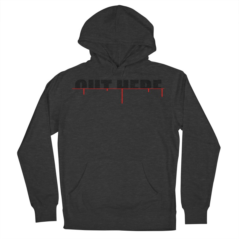 Cut Here Men's French Terry Pullover Hoody by iconnico
