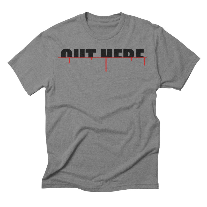 Cut Here Men's Triblend T-Shirt by iconnico
