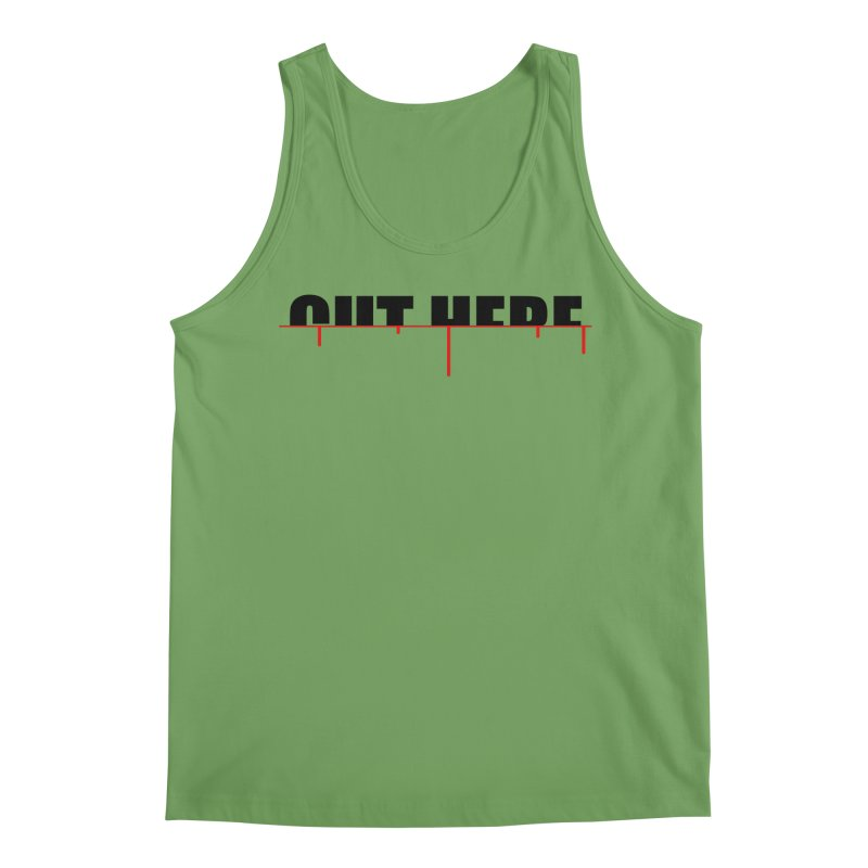 Cut Here Men's Tank by iconnico
