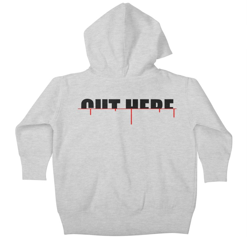 Cut Here Kids Baby Zip-Up Hoody by iconnico