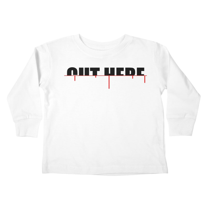 Cut Here Kids Toddler Longsleeve T-Shirt by iconnico