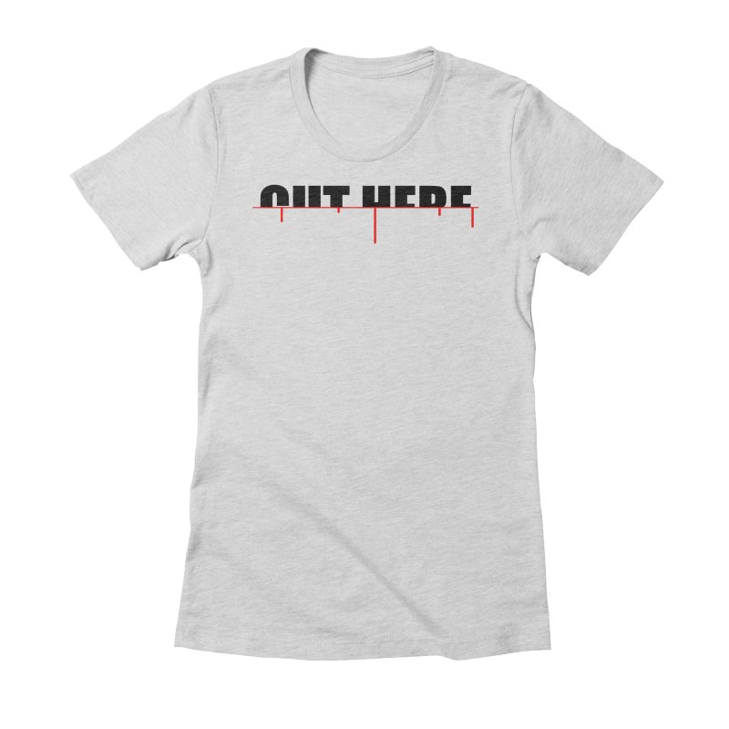 Cut Here Women's T-Shirt by iconnico