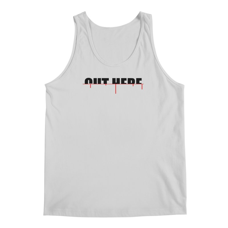 Cut Here Men's Regular Tank by iconnico