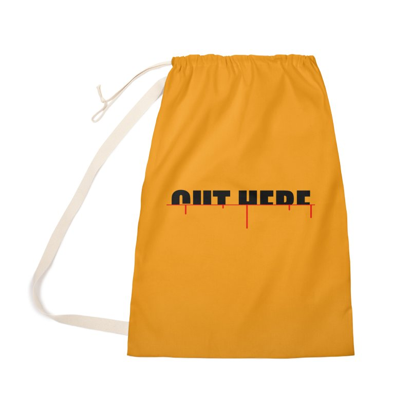Cut Here Accessories Bag by iconnico