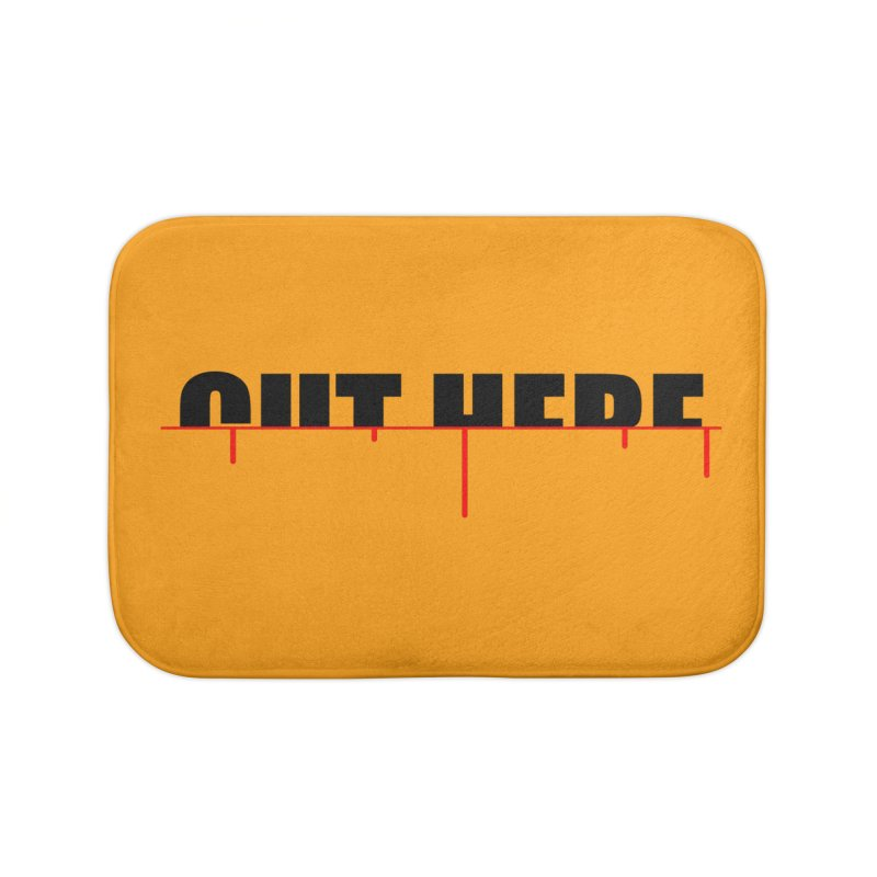 Cut Here Home Bath Mat by iconnico