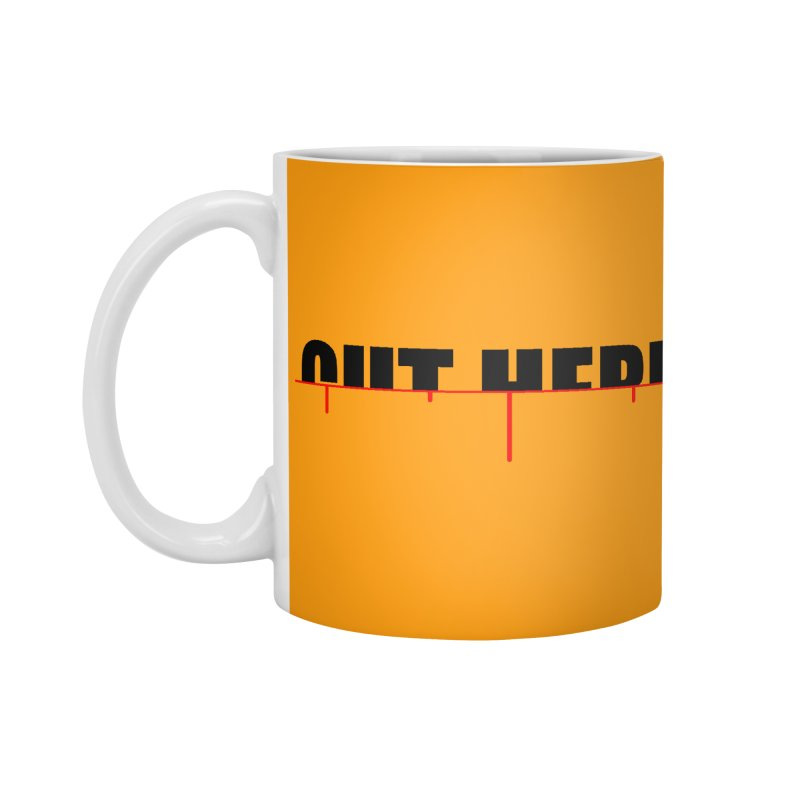 Cut Here Accessories Standard Mug by iconnico