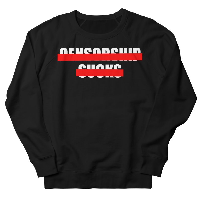 Censored Men's French Terry Sweatshirt by iconnico