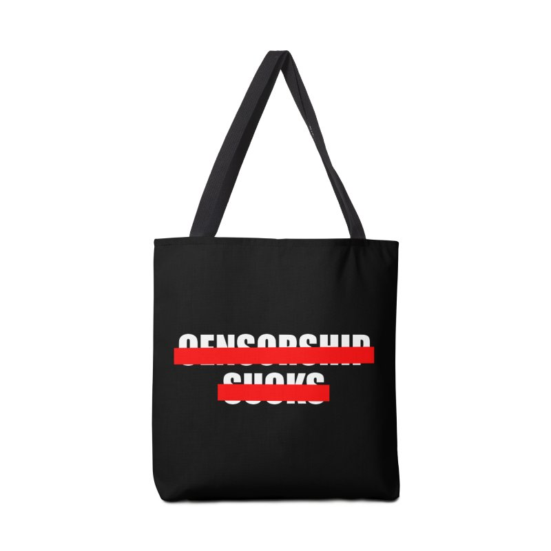 Censored Accessories Tote Bag Bag by iconnico