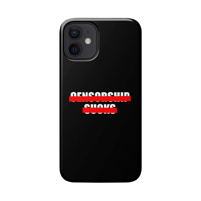 Censored Accessories Phone Case by iconnico