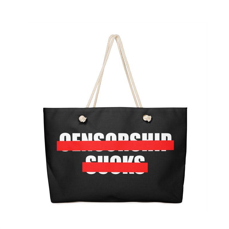 Censored Accessories Bag by iconnico