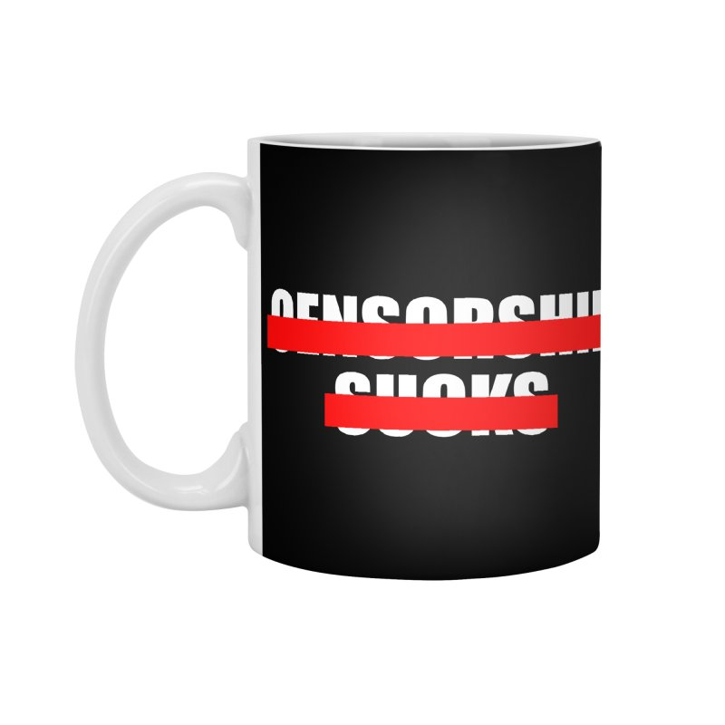 Censored Accessories Standard Mug by iconnico