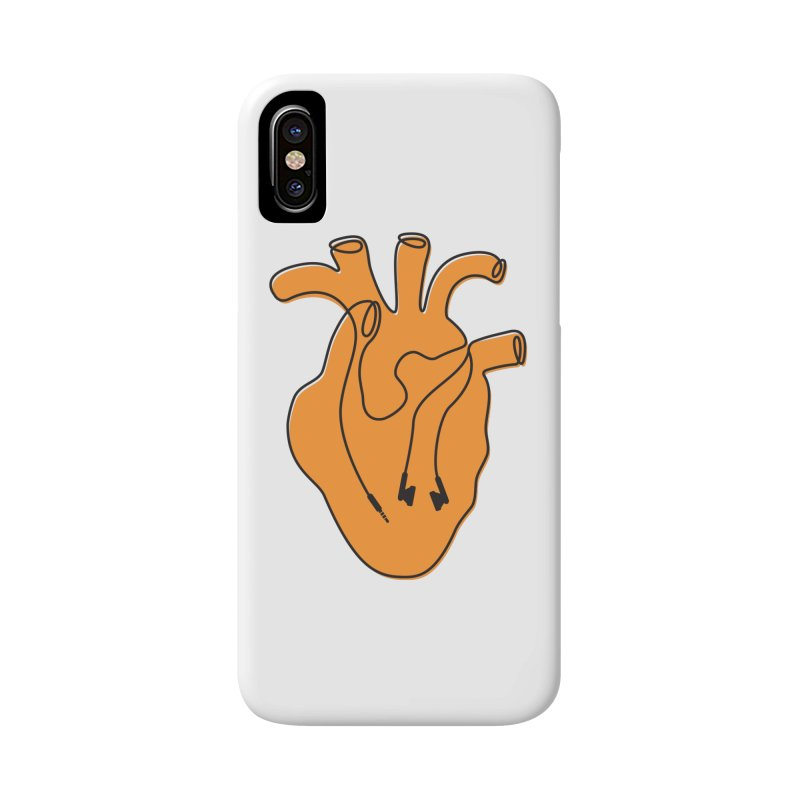 Listen To Your Heart Accessories Phone Case by iconnico