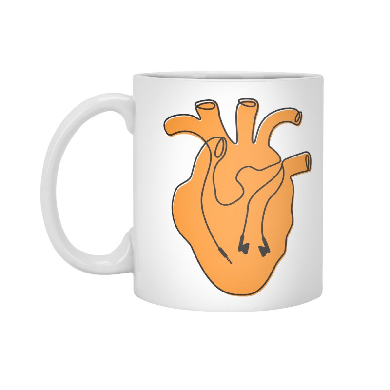Listen To Your Heart Accessories Mug by iconnico