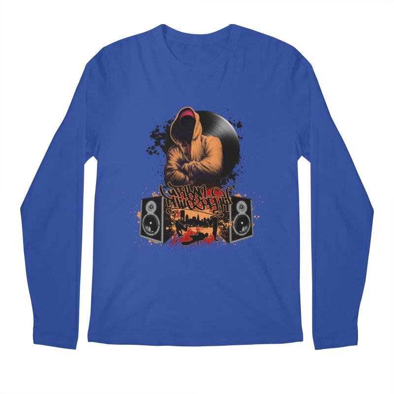 Hip Hop Men's Regular Longsleeve T-Shirt by Ideacrylic Shop