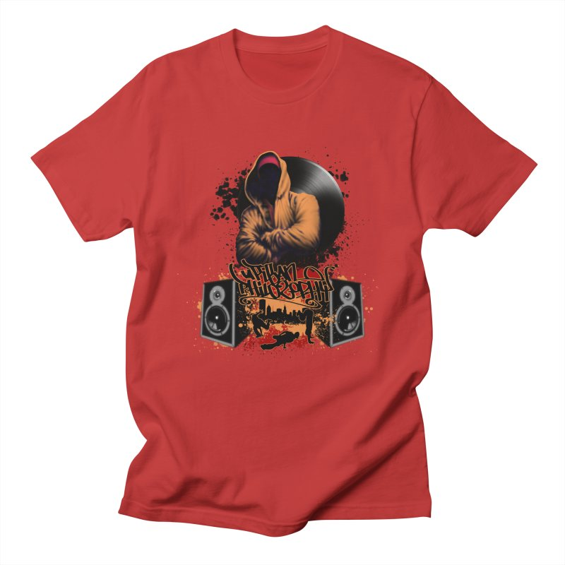 Hip Hop Men's T-Shirt by Ideacrylic Shop