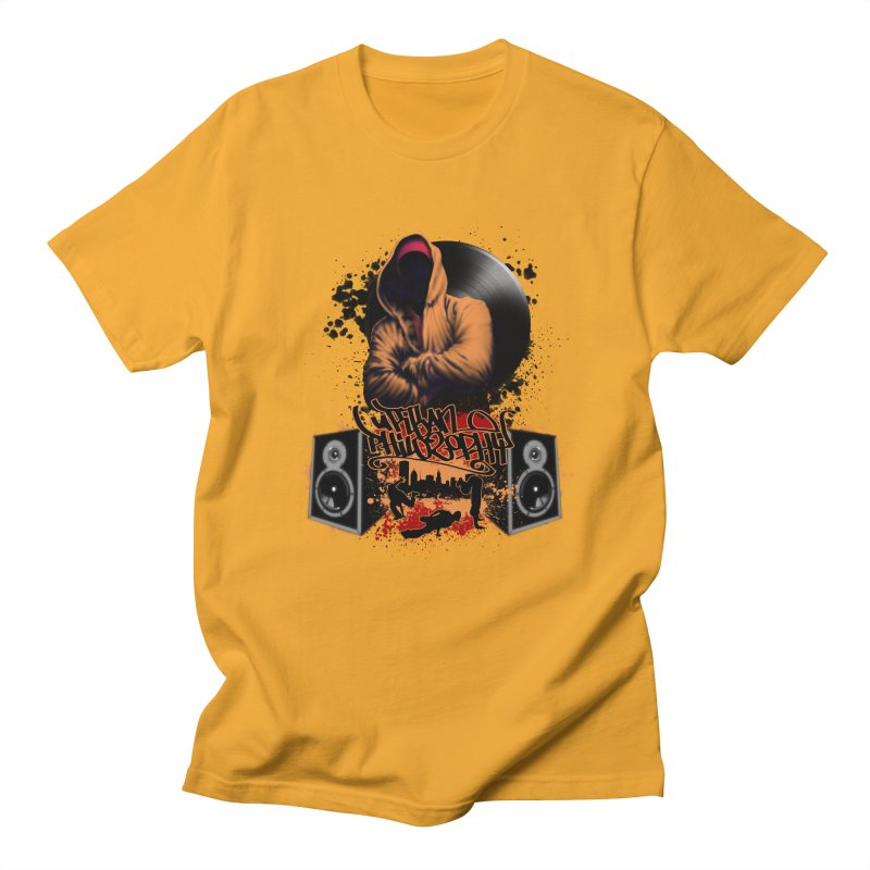 Hip Hop Men's Regular T-Shirt by Ideacrylic Shop