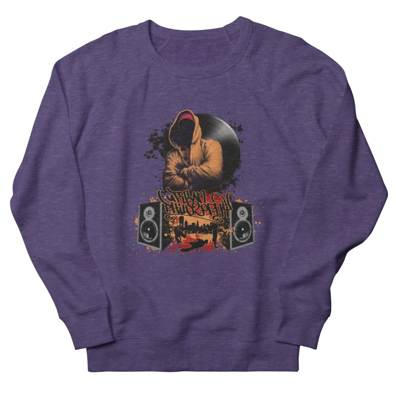 Hip Hop Women's French Terry Sweatshirt by Ideacrylic Shop