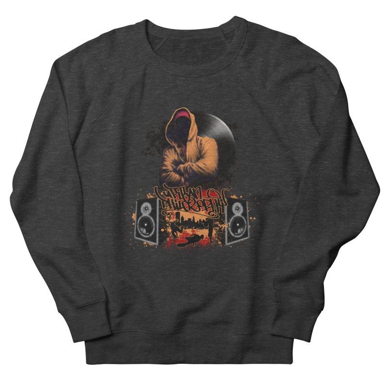 Hip Hop Men's French Terry Sweatshirt by Ideacrylic Shop