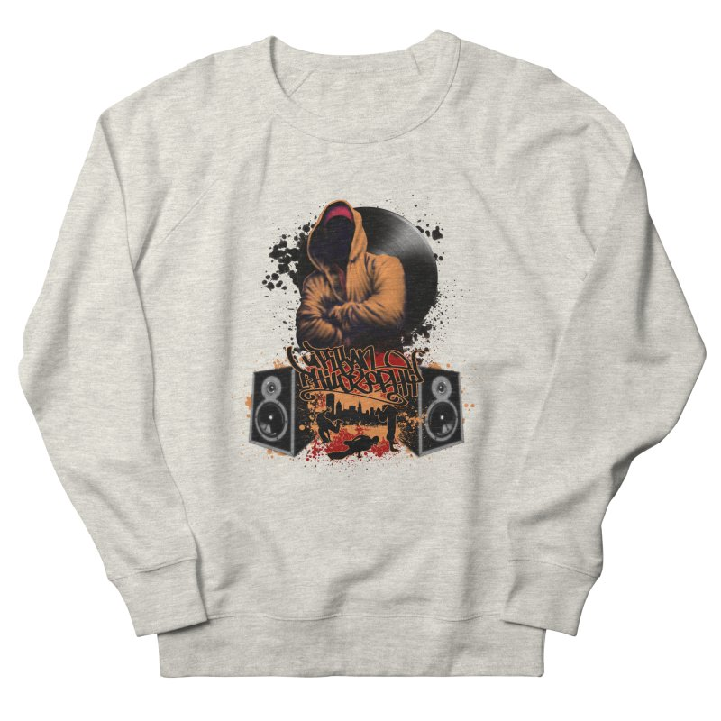 Hip Hop Men's French Terry Sweatshirt by Ideacrylic Shop