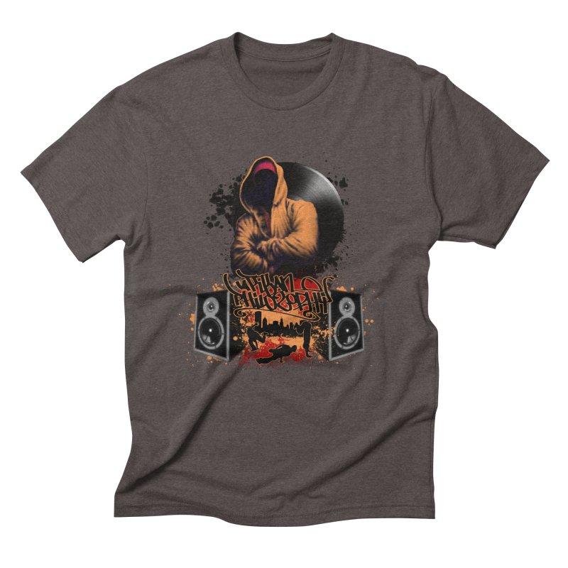 Hip Hop Men's Triblend T-Shirt by Ideacrylic Shop