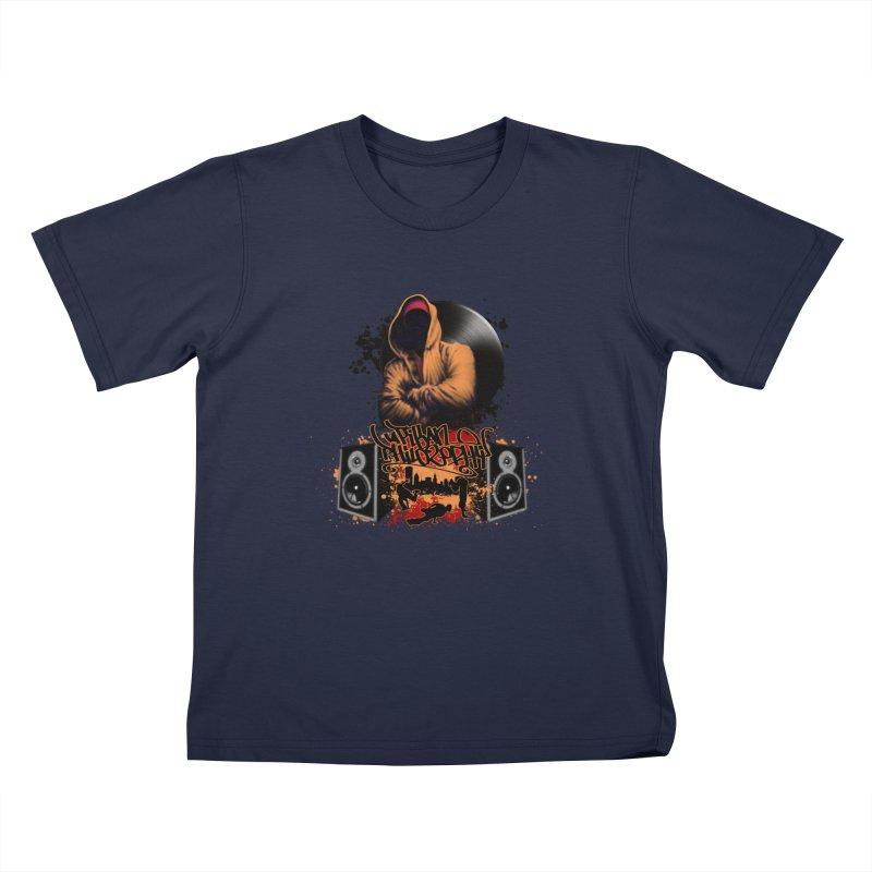Hip Hop Kids T-Shirt by Ideacrylic Shop