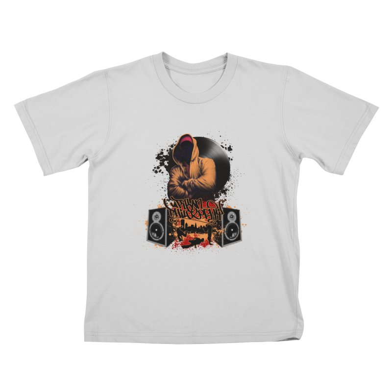 Hip Hop Kids T-Shirt by Ideacrylic Shop