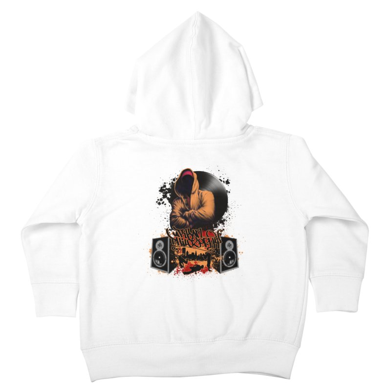 Hip Hop Kids Toddler Zip-Up Hoody by Ideacrylic Shop