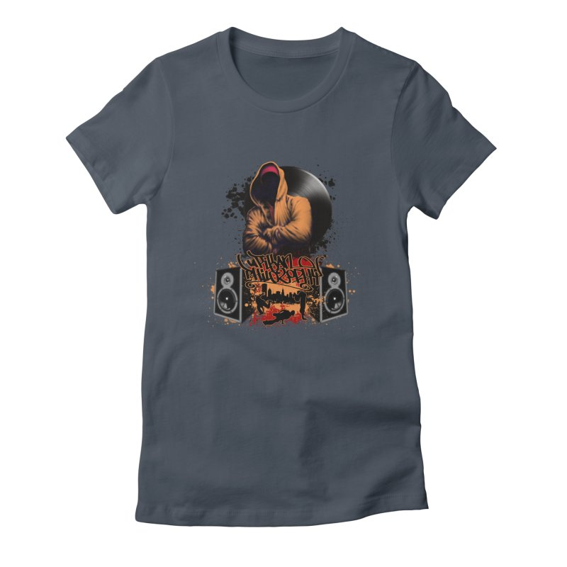 Hip Hop Women's T-Shirt by Ideacrylic Shop