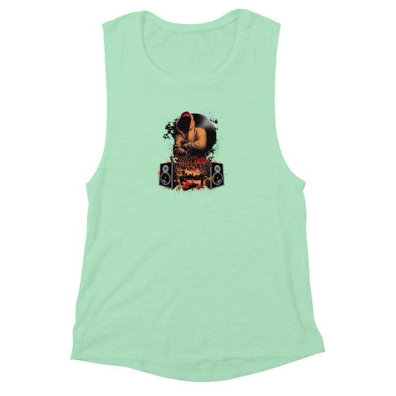 Hip Hop Women's Muscle Tank by Ideacrylic Shop