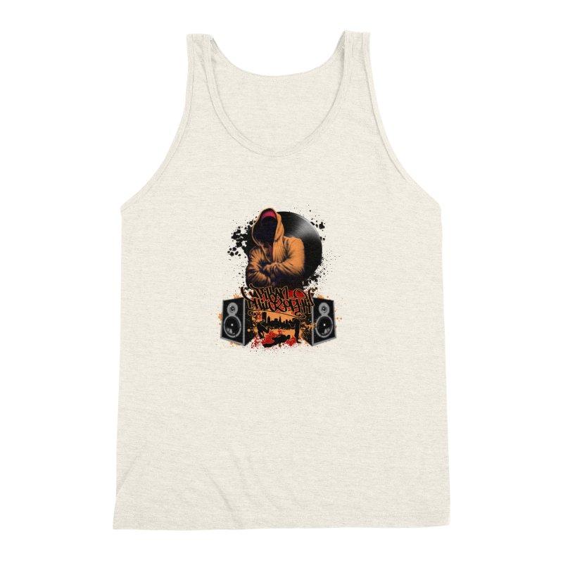 Hip Hop Men's Triblend Tank by Ideacrylic Shop