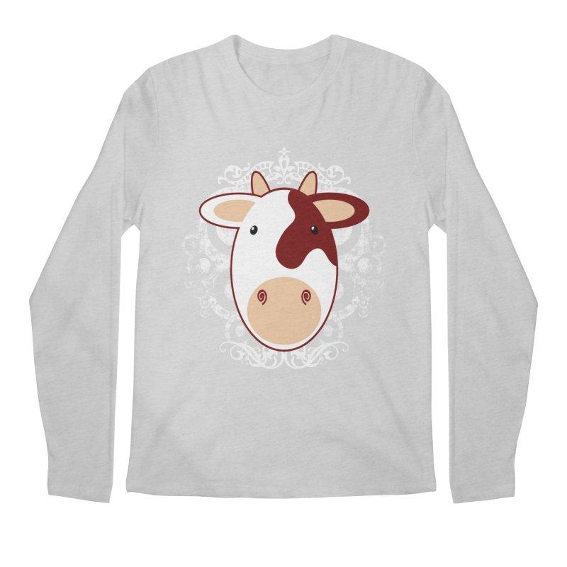 Cowwy Men's Regular Longsleeve T-Shirt by Ideacrylic Shop