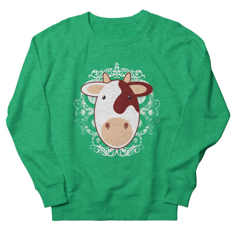 Cowwy Women's Sweatshirt by Ideacrylic Shop