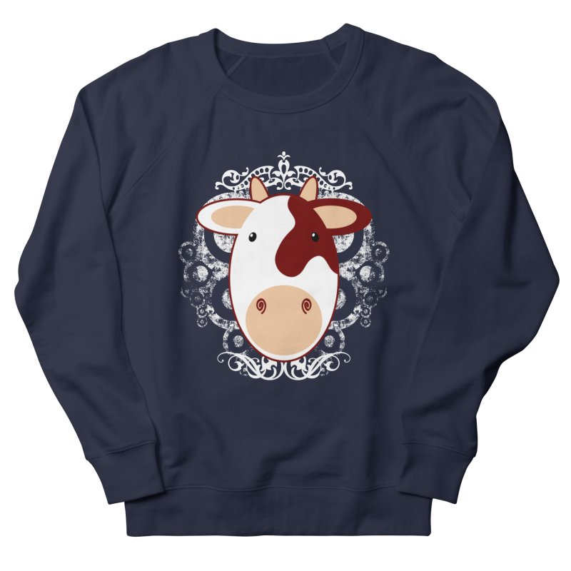 Cowwy Men's Sweatshirt by Ideacrylic Shop