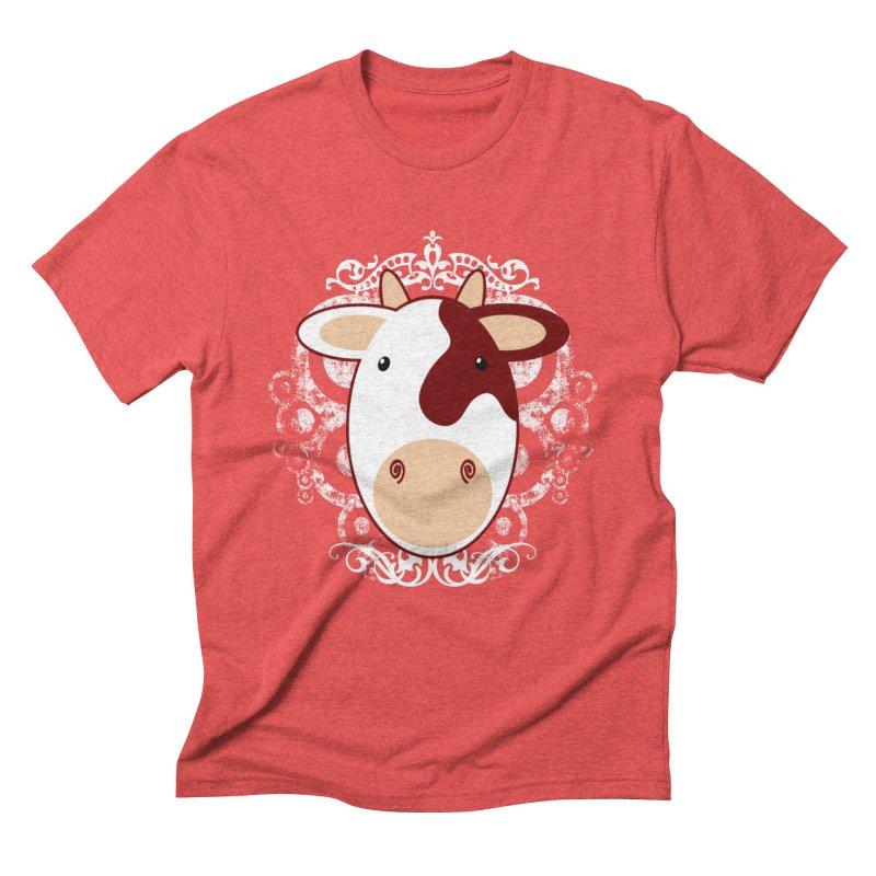 Cowwy Men's Triblend T-Shirt by Ideacrylic Shop