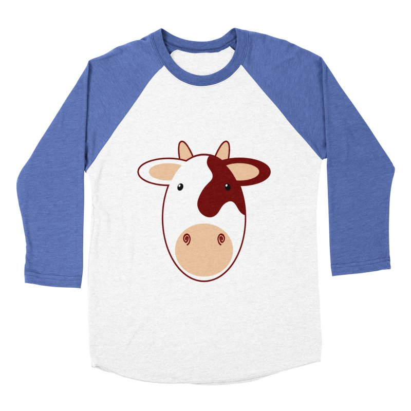 Cowwy Men's Baseball Triblend Longsleeve T-Shirt by Ideacrylic Shop