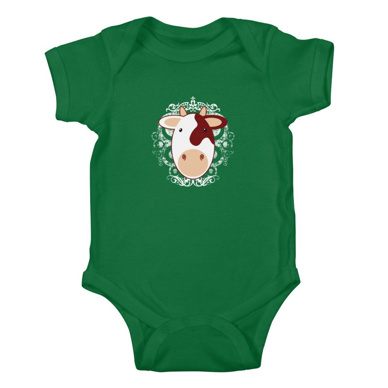 Cowwy Kids Baby Bodysuit by Ideacrylic Shop